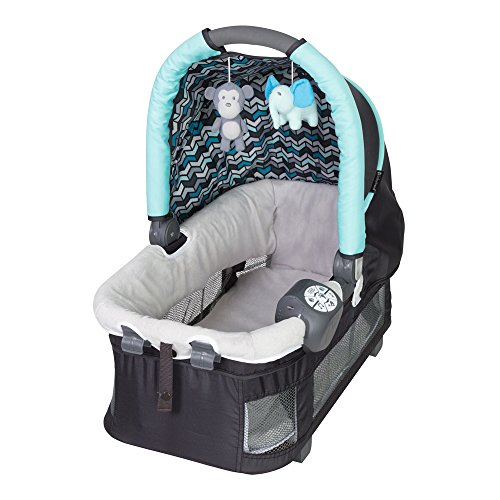 Baby Trend Resort Elite Nursery Center with Storage Bag