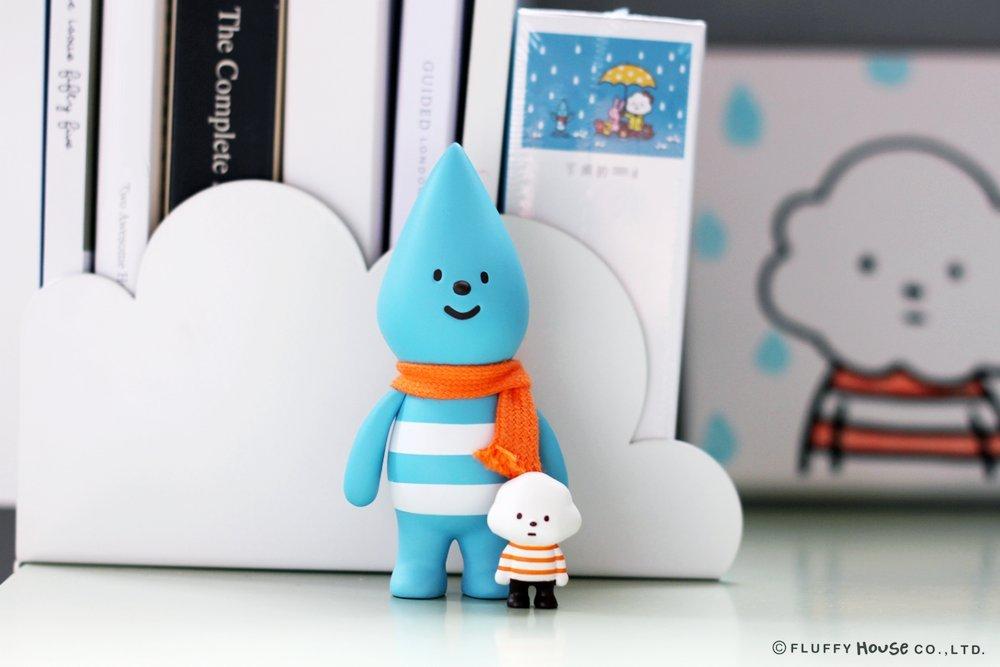 Little Raindrop 2.0 Designer Vinyl Toy Figure By Fluffy House
