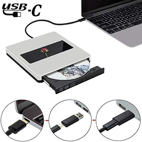 DVDドライブ USB CのSuperDrive USB3.0外付けCD DVDドライブ外付けCD DVD +/- RWバーナーライタードライブ JPLJJ