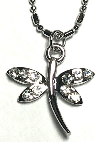 Silver Plated Double Chain Dragonfly Anklet 9