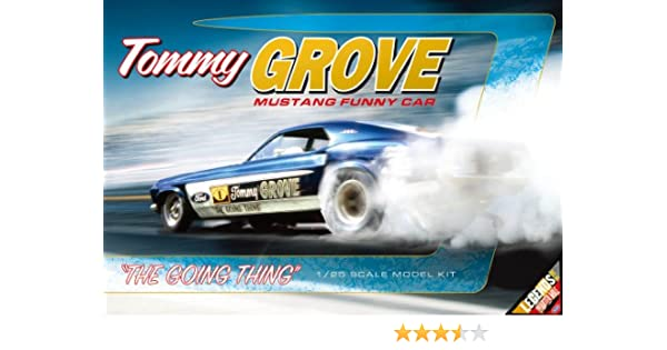 Amazon Com 1 25 Nhra Tommy Grove Mustang Funny Car Toys Games