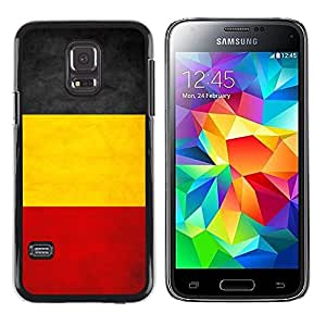 Be Good Phone Accessory // Dura Cáscara cubierta Protectora Caso Carcasa Funda de Protección para Samsung Galaxy S5 Mini, SM-G800, NOT S5 REGULAR! // National Flag Nation Country Be