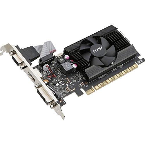 MSI Computer VGA Graphic Card GT 710 2GD3 LP