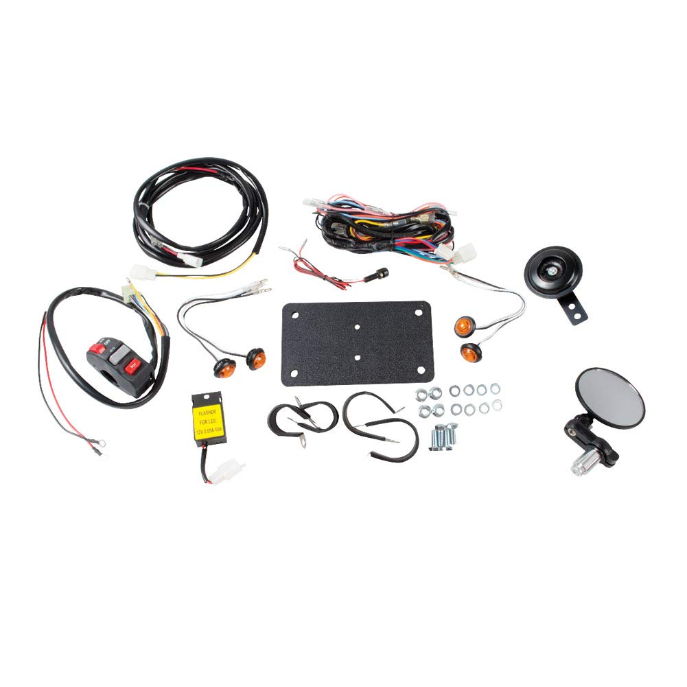 Tusk Universal ATV Street Legal Kit With Recessed Signals - For ATV's With Existing Brake Lights by Tusk Off-Road