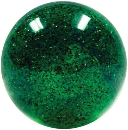 American Shifter 266265 Green Flame Metal Flake Shift Knob with M16 x 1.5 Insert Red Sergeant