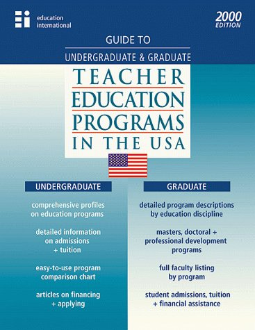 Guide to Undergraduate and Graduate Teaching and Education Programs in the USA