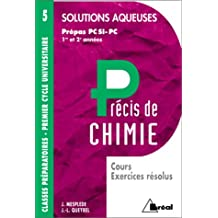 precis 5 solutions aqueuses pcsi, pc
