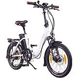 "NCM Paris (+) E-Bike, E-Faltrad, 250W, 36V 15Ah/19Ah • 540Wh/684Wh Akku, 20"" Zoll"