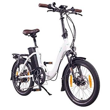 """NCM Paris+ 20"""" Bicicleta eléctrica plegable, E-Bike, 36V 250W Motor trasero"""