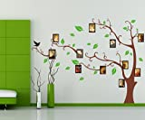 Zooyoo® Wholesale Flowers Trees Animals Wall Sticker Decals Kids Nursery Children Bedroom Living Room Decor Removable PVC Mural (90*60CM Photo Frame Memory Tree)