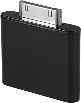 XCSOURCE /Émetteur Dongle Adaptateur de Bluetooth pour iPod Mini iPod Classic iPod Nano Touch Vid/éo Noir TH523