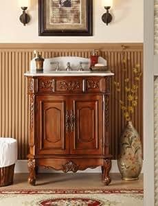 "30.75"" Unique classic Ellenton Bathroom sink vanity Model HF080W-TK"