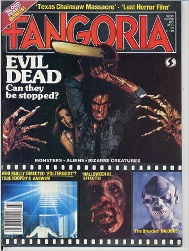 Fangoria Magazine EVIL DEAD Queen Of Blood HALLOWEEN III LA - 23 of the strangest books to ever appear on amazon