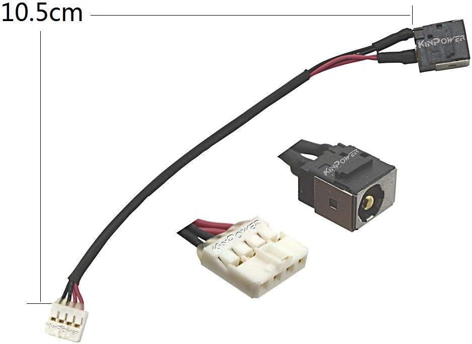KINPOWER DC Jack Connecteur Alimentation pour Lenovo V580 B580 B590