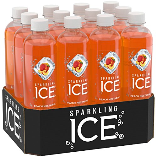 Sparkling Ice Peach Nectarine, 17 Ounce Bottles (Pack of (Peach Water)