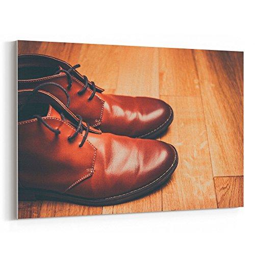 Westlake Art - Boot Leather - 24x36 Canvas Print Wall Art -