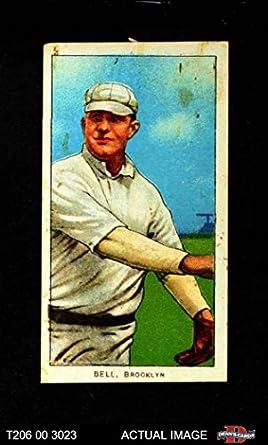 Amazoncom 1909 T206 Thr George Bell Brooklyn Superbas