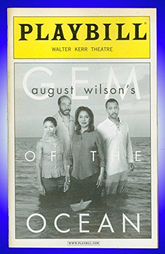 - Gem of the Ocean, Broadway playbill + Phylicia Rashad , Lisa Gay Hamilton , Eugene Lee