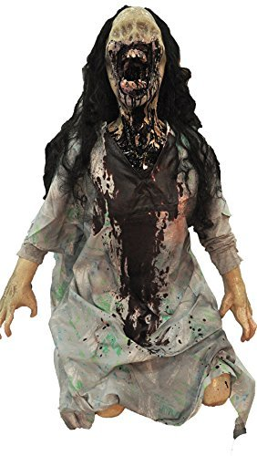Wretched Animated Haunted House Halloween Prop Shaking Distortions Scary Decor ()