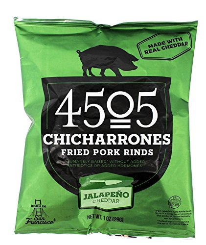4505 Chicharrones (Fried Pork Rinds) (Jalapeno Cheddar), 24 Pack by Unknown (Image #1)