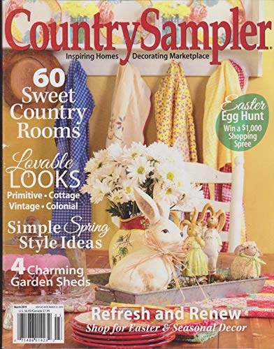 Country Sampler Magazine March 2019