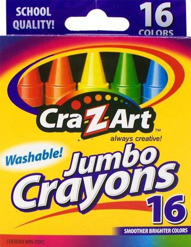 Cra Z art Washable Jumbo Crayons 10204