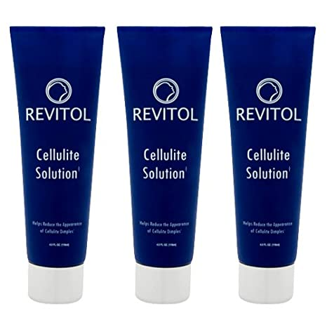 Amazon Com Revitol Cellulite Solution With Caffeine And Vitamin E Powerful Brand New Formula With 100 All Natural Ingredients And Fast Acting Results Moisturizing Cream With No Odor Or Greasy Feel 3