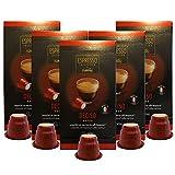 Caffitaly Nespresso Compatible Gourmet Coffee Capsules, Deciso Espresso, Bold, 50 Count