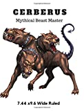 """Cerberus Mythical Beast Master 7.44"""" x 9.69"""" Wide"""