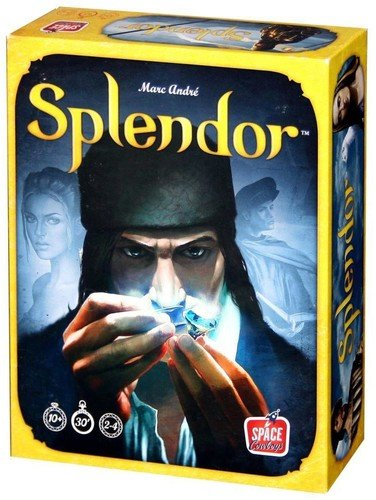 Asmodee ASMSCSPL01US Splendor Board Game product image