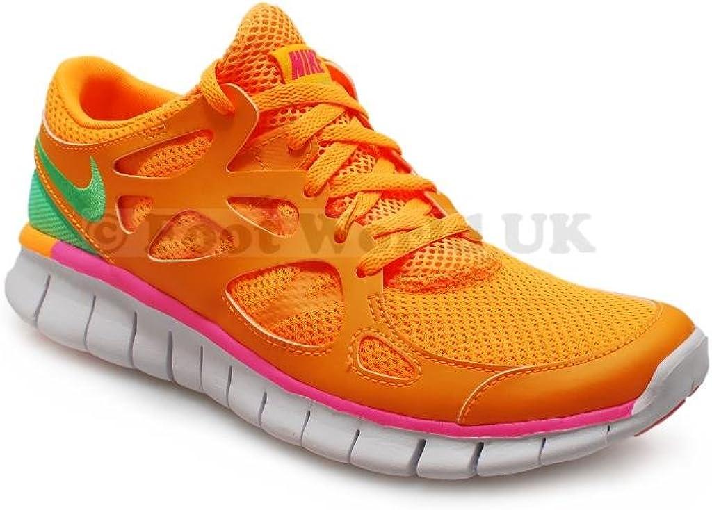 Nike - Zapatillas de Running para Mujer Atomic Mango Lucid Green Pink Glow: Amazon.es: Zapatos y complementos