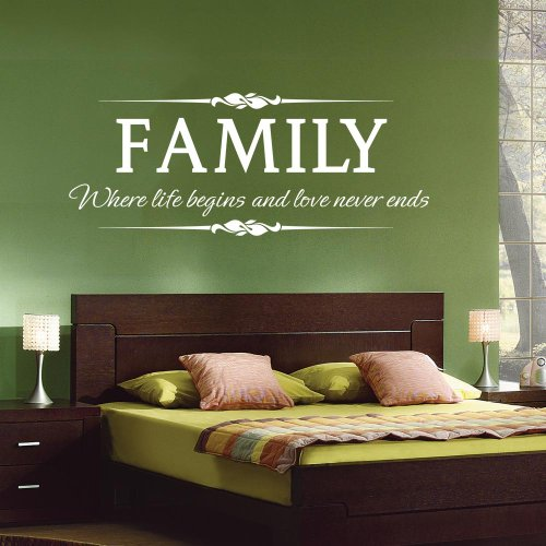 Family Where Begins Never Stickers product image