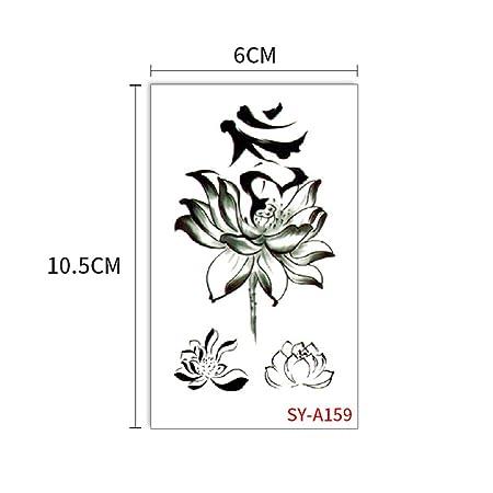 zgmtj Adhesivo de Tatuaje de Pareja Nueva Fresca SYA159 60x105mm ...