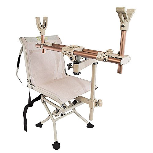 Portable Shooting Chair - Caldwell DeadShot ChairPod Tan