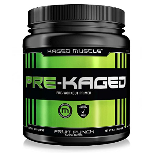 Kaged Muscle Pre Kaged Pre-Workout Primer, Fruit Punch, Net Wt....