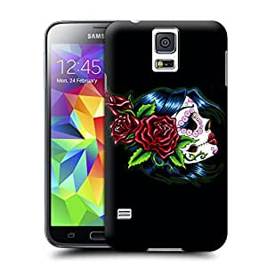 Buythecases Skeleton skull head arts map Skull for durable design your own samsung galaxy s5 case