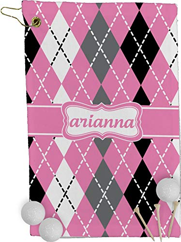 (RNK Shops Argyle Golf Towel - Full Print (Personalized))