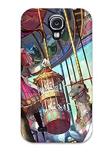MagicSpace YGjOk5469YhbpO Case Cover Galaxy S4 Protective Case Anime Carnival