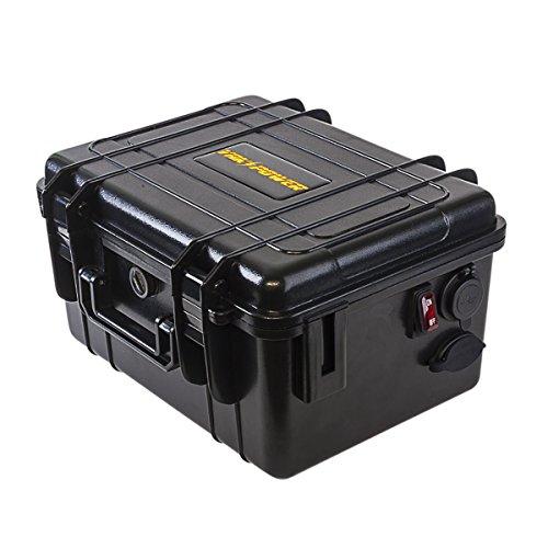 Yak-Power YP-BBK Power Pack Battery Box 12vdc Battery Power Box