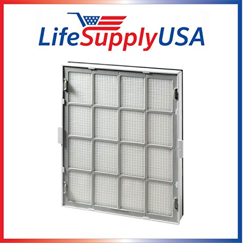 (LifeSupplyUSA True HEPA Replacement Filter Fits Winix Ultimate 119110 Size 21 and WAC9500)