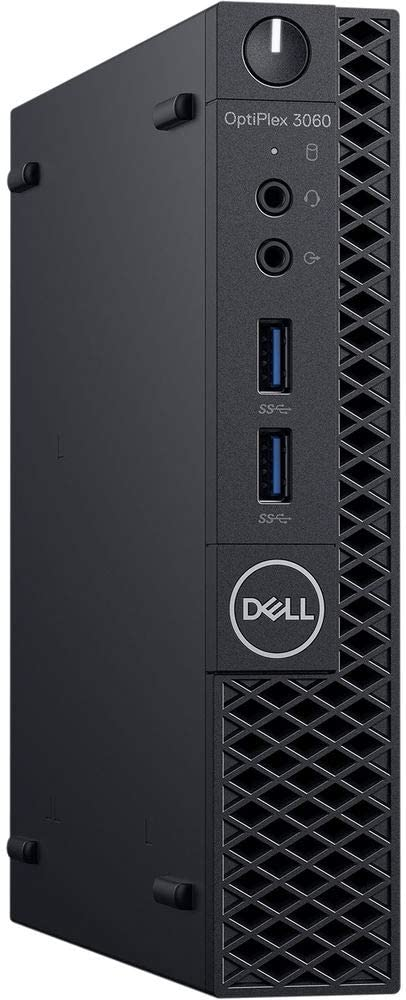 Dell OptiPlex 3060 Micro Form Factor (MFF) Business Desktop PC, Intel Six/Hexa Core i5-8500T, 32GB RAM, Intel PCIe Nvme 1TB SSD, Display Port/HDMI, Wireless LAN, Gigabit Ethernet, Windows 10 Pro