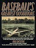 Baseballs Greatest Q, Paul Dickson, 0062720252
