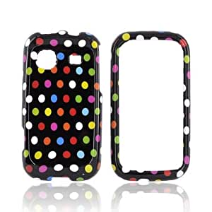 Rainbow Polka Dots Hard Plastic Case Cover For Samsung Trender M380