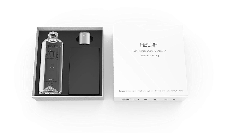 H2CAP Plus - Premium Portable Hydrogen Water Generator