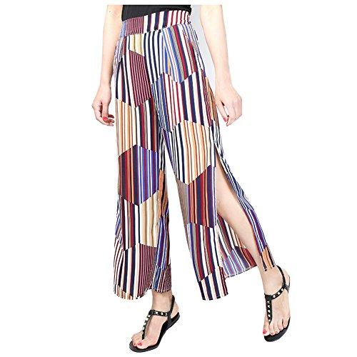 Velveteen Straight Leg Pants - 1