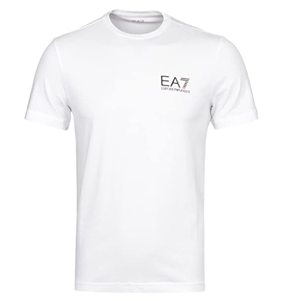 t-shirt uomo armani bianca
