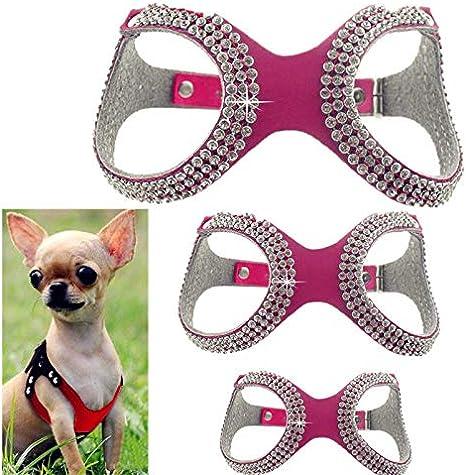FidgetGear XXXS/XXS/XS Arnés para Perro Extra pequeño Chaleco ...