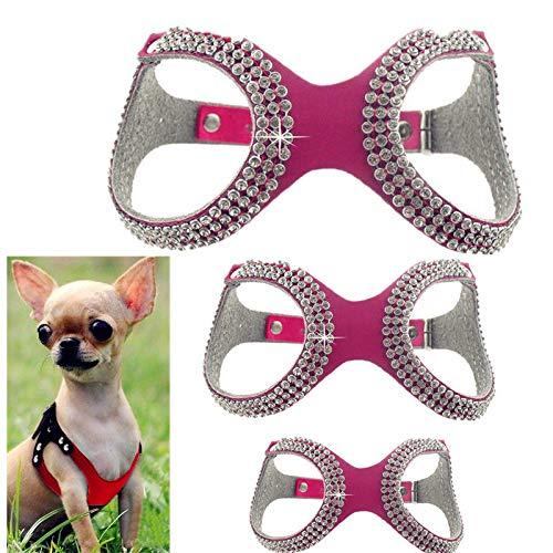 FidgetGear XXXS/XXS/XS Extra Small Dog Harness Soft Vest Pet Collar for Chihuahua (Best Dog Collar Xxx)