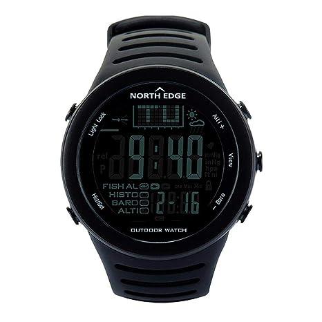 NORTH EDGE Reloj Deportivo Deportivo al Aire Libre, Relojes Digitales para Hombres con altímetro meteorológico