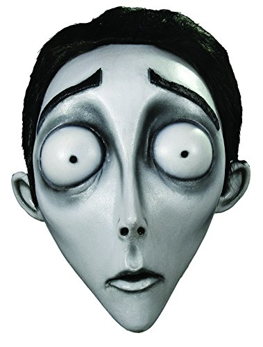 Victor Corpse Bride Costume - Trick or Treat Studios Men's Corpse Bride-Victor Mask, Multi, One Size